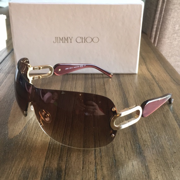 376a7e18404 Jimmy Choo Accessories - Jimmy Choo Women s Sunglasses brown and gold